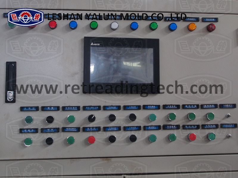 PLC (touch screen) & Manual (buttons) systems